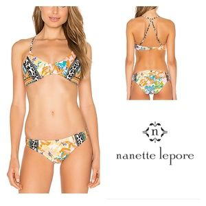 Nanette Lepore Copa Cubana Charmer Bikini Top